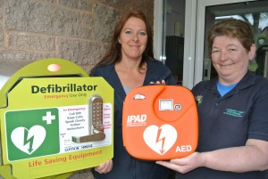New community defibrillator at Rampkin House Appleby (2)