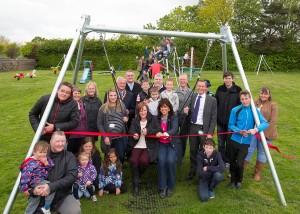 Milton Street Play area opens