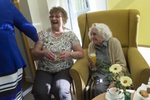 Joyce Plummer and Elsie Sowerby