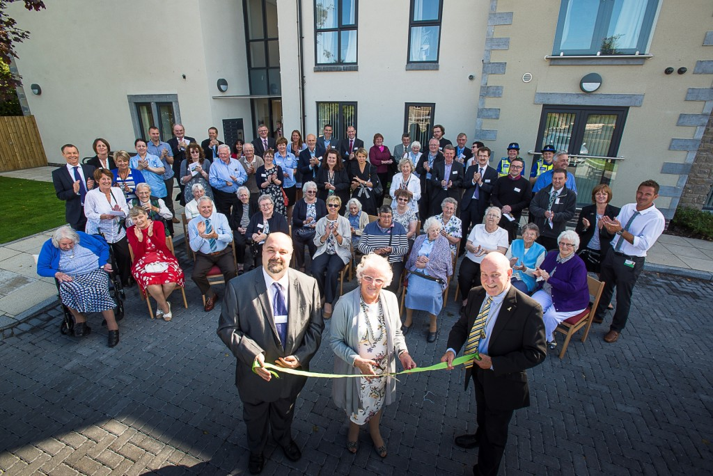 Mill Gardens Extra Care Scheme opening
