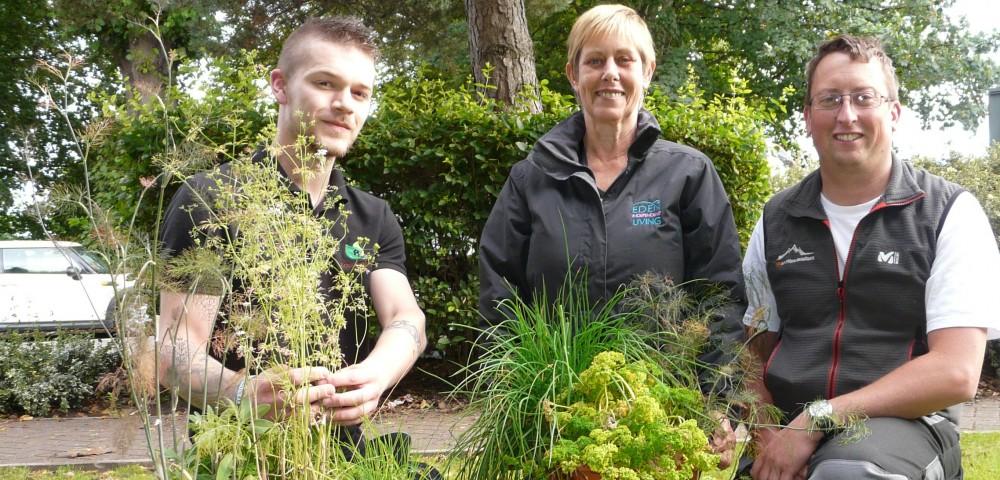 More gardening in Eden