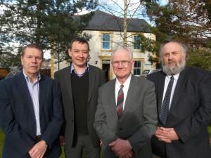 New board members at Eden HA Fra Cooke, Simon Hunt, Hugh Harrison and Ian Tupling